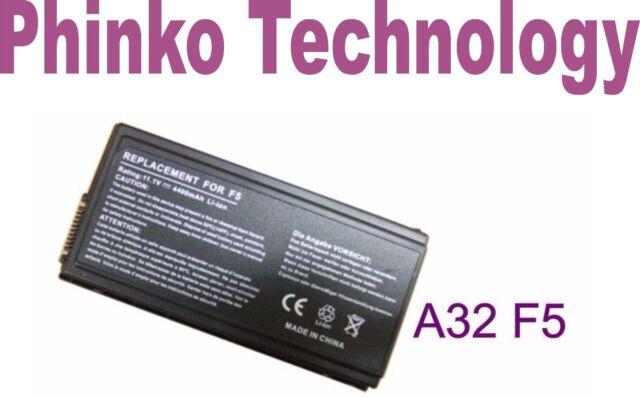 NEW Battery ASUS Pro50RL Pro50SL Pro50SR Pro50V Pro55GL Pro55PT Pro55S A32-F5