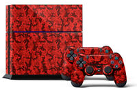 Skin Sticker For Ps4 System Playstation 4 Console +2 Controller Decals Digicam R
