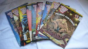 Comic-Collection-Job-Lot-Comics-Judge-Dredd-2000AD-Issues-1343-1342