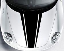 Indiashopers Dual Racing Stripe Windows, Sides, Hood, Bumper Car Sticker