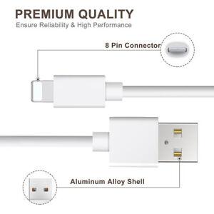 Apple-MFI-Certificata-Lightning-Dati-Di-Sincronizzazione-Cavo-Caricabatteria-Per-iPhone-5-6-iPod
