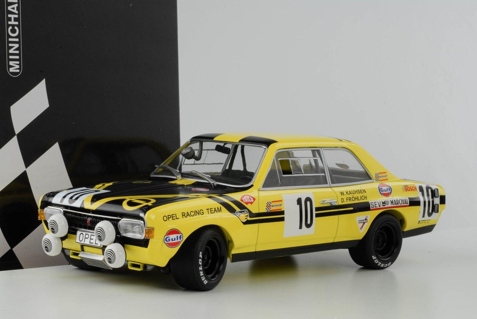 Opel Commodore A GS E Steinmetz   10 24h Spa 1970 Fröhlich Kauhsen 1 18 Minicham  | Deutschland Store