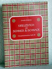 KREUZSTICH mit SCHNICK & SCHNACK - Ursula Schertz