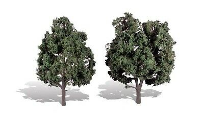 Cool Shade 5in.-6in Pack of 2 OO//HO trees Woodland Scenics TR3514