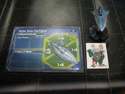 Star Wars Miniatures Starship Battles TECHNO UNION STARFIGHTER #53