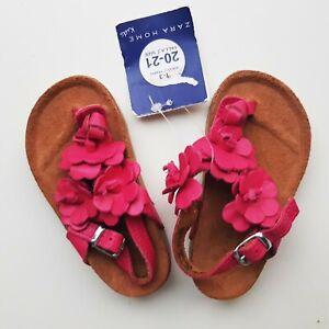 Baby Girls ZARA HOME PINK Leather