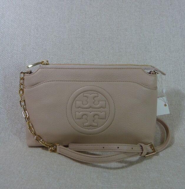 54b747495cc Tory Burch Bombe Chain Crossbody Light Oak Pink Large Messenger Bag ...