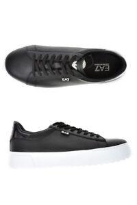 Caricamento dell immagine in corso Scarpe-Sneaker-Emporio-Armani-EA7-Shoes -Pelle-Uomo- fa41f93d301