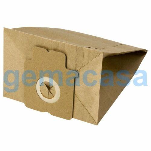 8 Sacchetti aspirapolvere per PANASONIC-BLACK/&DECKER-URALUX-WELTSTAR
