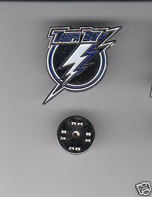 TAMPA BAY LIGHTNING NHL Hockey Team Logo METAL HAT LAPEL PIN New Sealed NO NAME