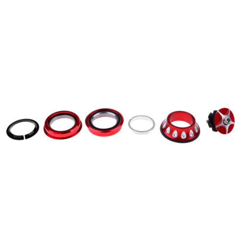 1 1//8/'/' Threadless External Headset Bike External Cup Headset 44mm Headtube