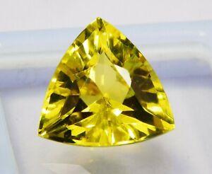 Natural-CERTIFIED-Trillion-Cut-9-Ct-Yellow-Ceylon-Sapphire-Loose-Gemstone