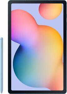 """Samsung - Galaxy Tab S6 Lite - 10.4"""" - 128GB - Angora Blue"""