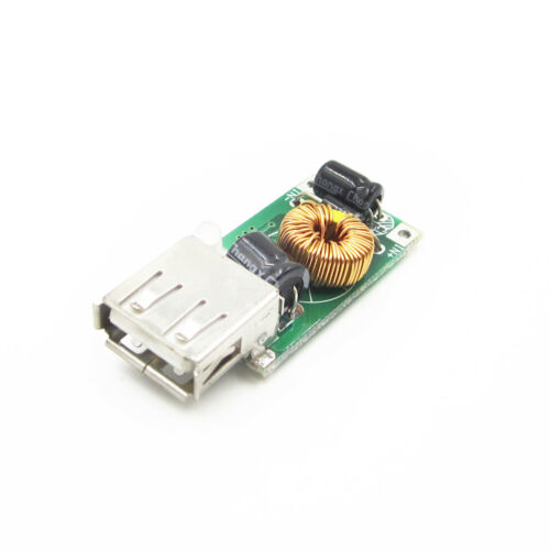 DC-DC 12V Step-down to 5V Power Supply USB Charger Module For IPhone MP4 PSP