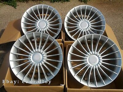 4x 19 zoll alpina style felgen f r bmw 3 5 7 gt silber silver wheels concave neu ebay. Black Bedroom Furniture Sets. Home Design Ideas