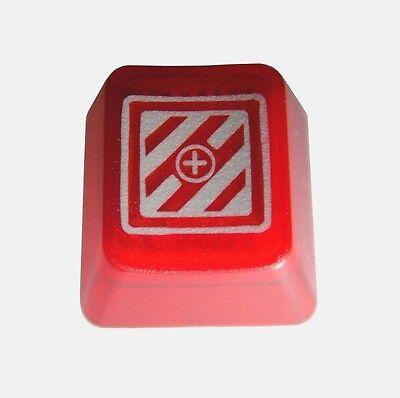 Translucent Red KeyPop Novelty Doubleshot Cherry MX Keycaps / Key cap