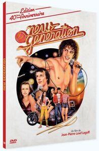 "DVD NEUF ""NEW GENERATION - 1979"" Lambert WILSON, Jackie SARDOU, Brigitte LAHAIE"
