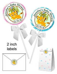 Image Is Loading 40 LION KING BABY SIMBA BABY SHOWER FAVORS