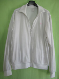 veste blanche adidas homme