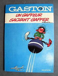 GASTON-UN-GAFFEUR-SACHANT-GAFFER-FRANQUIN-EO-1969-DUPUIS-BON-ETAT