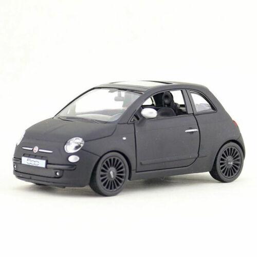 1:30 Fiat 500 Metall Die Cast Modellauto Spielzeugauto Pull Back Kinder Geschenk