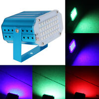 36 LED 36W RGB Mini Projector DJ Disco Strobe Light Stage Party Laser Lighting