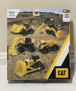 CAT Caterpillar Little Machines 5 Pack Trucks  Construction Play Funrise