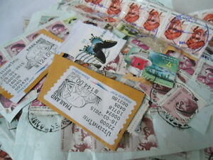 Philatelist-Stamps-Collection-Mostly-India-Thailand-amp-USA-International-LOT