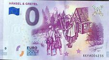 BILLET 0 ZERO EURO SCHEIN SOUVENIR HANSEL & GRETEL 2019-1