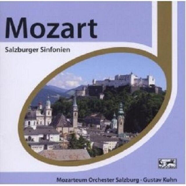 GUSTAV KUHN - MOZART - ESPRIT/SALZBURGER SINFONIEN  CD NEU