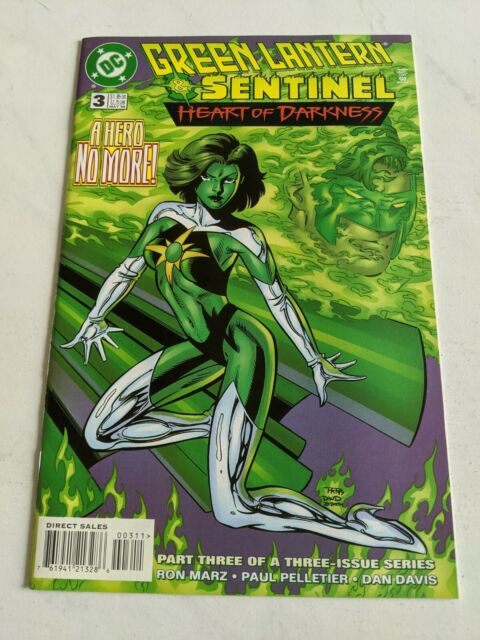 Green Lantern & Sentinel HEART OF DARKNESS #3 May 1998 DC Comics