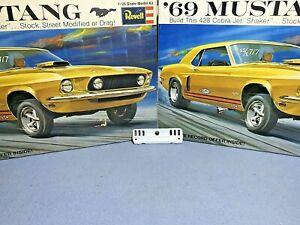 REVELL-1969-FORD-MUSTANG-COUPE-KIT-H-1261-200-MPC-AMT-1-25-TAIL-LIGHT-PANEL-ONLY