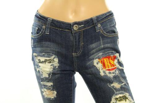 Toppe Jeans Claudio Bootcut 7 Milano Decorato Misura Cristallo Junior EEXCq