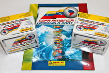 Panini COPA AMERICA VENEZUELA 2007 - 2 x DISPLAY BOX 100 Tüten packets + ALBUM