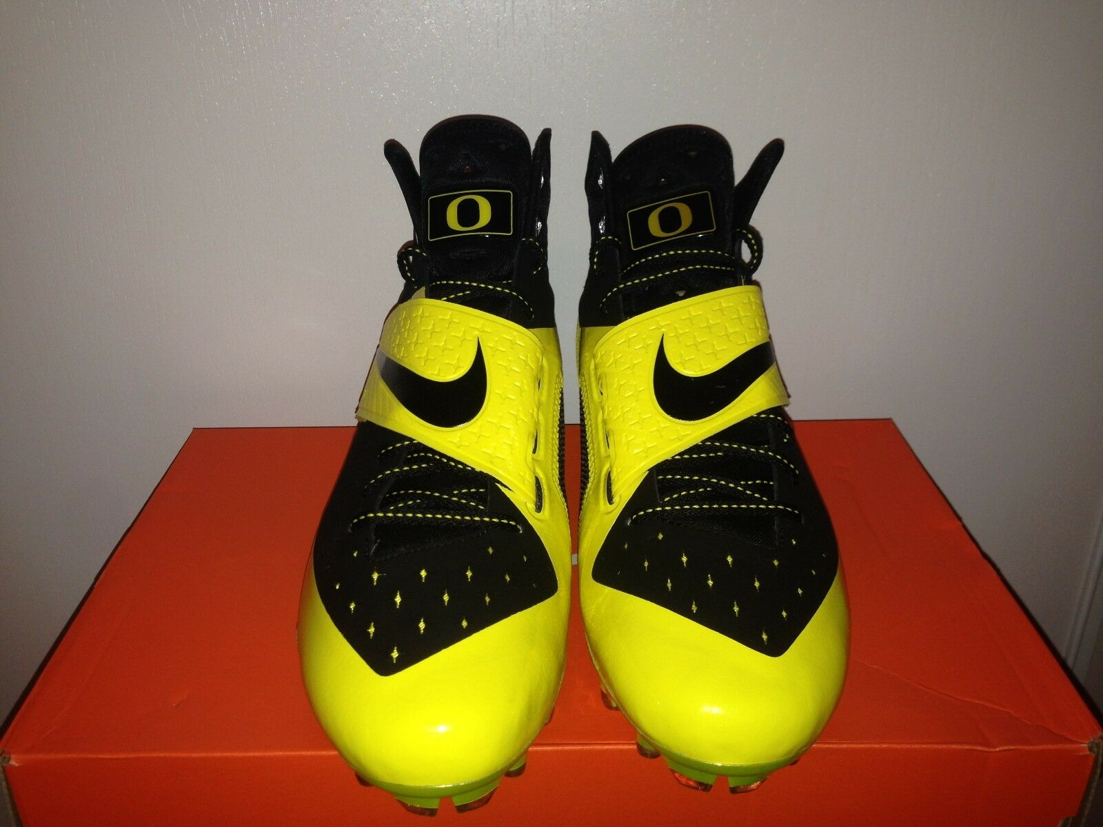 Nike Oregon Ducks CJ81 Elite TD Issued Player Player Player Exclusive PE Rare Cleats Clr SZ 13 4d517a