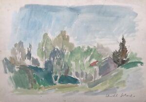 Gerhard-Schmidt-dia-de-verano-en-el-bosque-de-33-5-x-24-cm