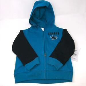 San Jose Sharks NHL Toddler Baby Sweatshirt Hoodie Size 3T
