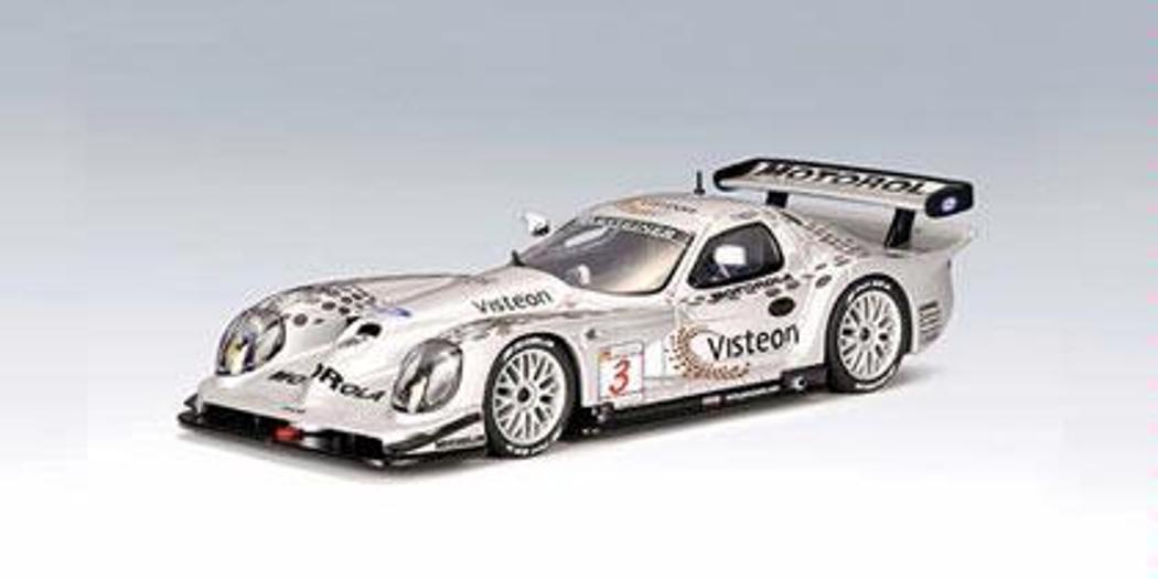 PANOZ ESPERANTE GTR-1  3 FIA GT 1998 BERNARD BRABHAM AUTOART 69851 1 43