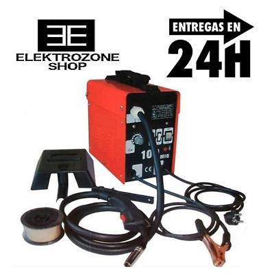 Soldador de hilo continuo sin gas MIG-100 máquina ventilada - Envío GRATIS 24H