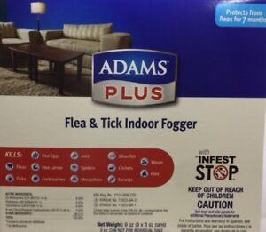Adams Plus Flea Amp Tick Indoor Fogger 3pack 3oz Cans Ebay