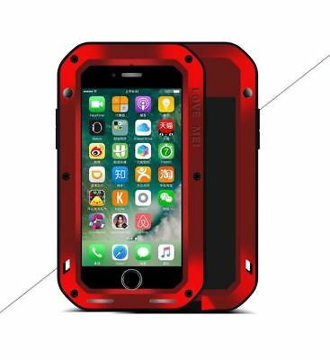 Schutzhülle ORIGINAL Love Mei Outdoor Powerful Protect Case Tasche Cover rot