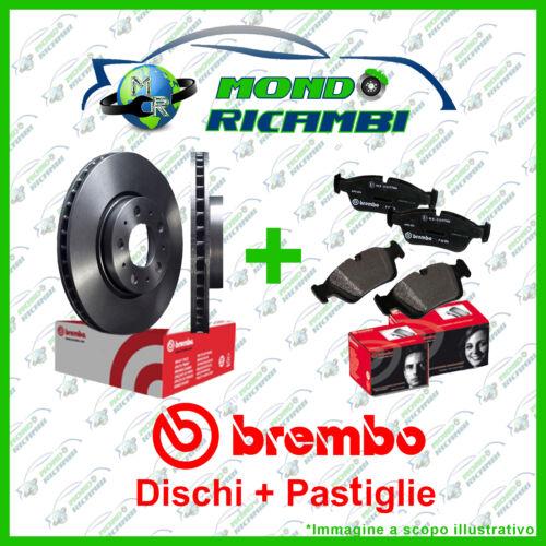 PASTIGLIE FRENO ANTERIORI BREMBO RENAULT SCENIC III 1.5 DCI 08/> 280 KIT DISCHI