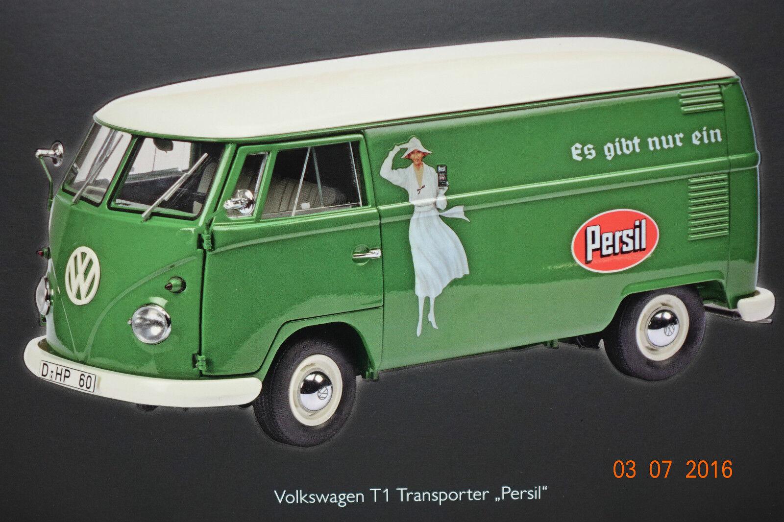 Vw t1b transporteur persil 1 18 schuco NOUVEAU & OVP 366