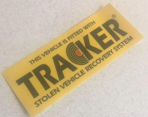 Etiqueta engomada Anti Robo Genuino Tracker advertencia Disuasoria signo de Porsche 911 928