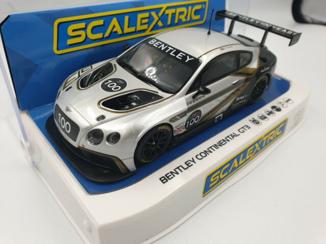 Scalextric 1:32 Bentley Continental GT3 Centenury Edition HD C4057A