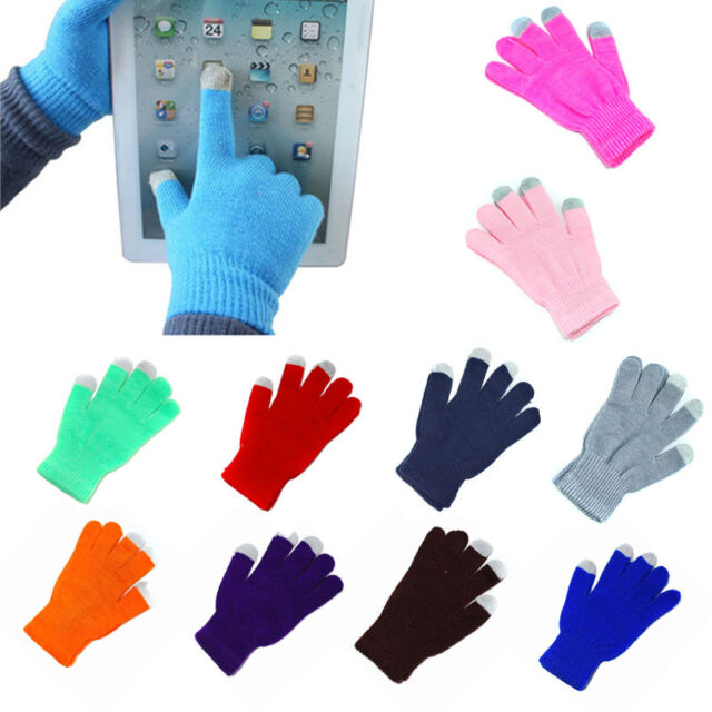 New Unisex Magic Touch Screen Warmer Gloves Smartphone Testing Stretch Winter