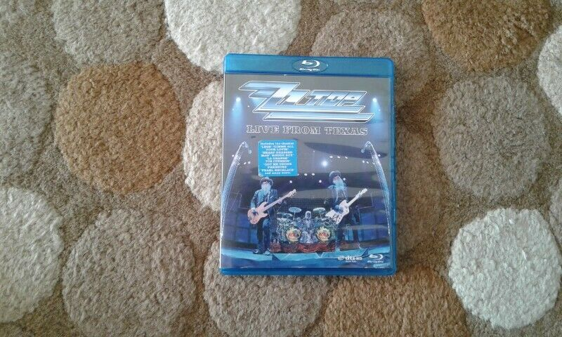 ZZ Top live from Texas bluray for sale