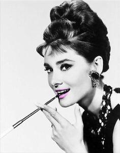 Audrey Hepburn Leinwand Kunstdruck Große 50x70cm Ebay