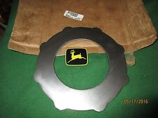 NEW OEM JOHN DEERE TRACTOR/FORAGE HARVESTER TRANS CLUTCH PLATE R108509 MODELS BE
