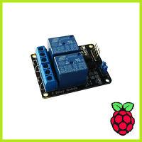 2 Kanal Relay Modul Relais Karte 5V Optokoppler 2-Channel Arduino Raspberry 002